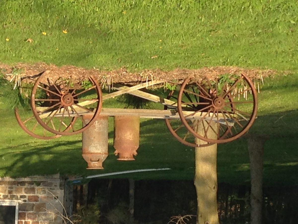 Old Farmyard Decor