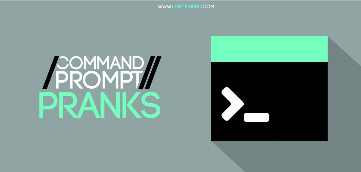 Best command prompt pranks. cmd pranks on friends/family.