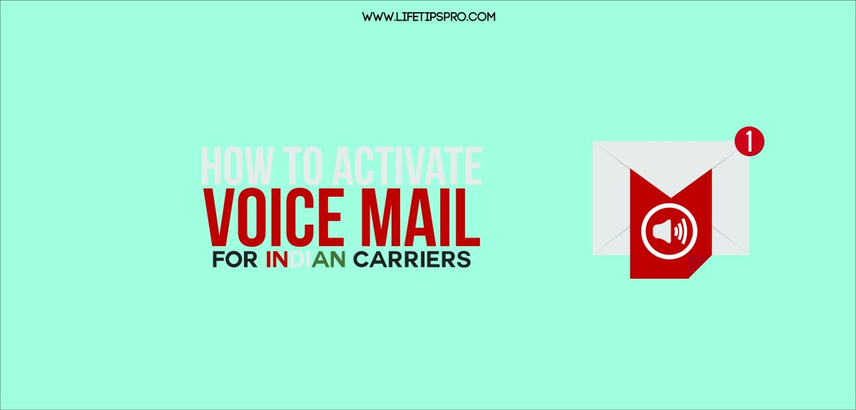 How to set a voicemail box in India. For Airtel, BSNL or others.