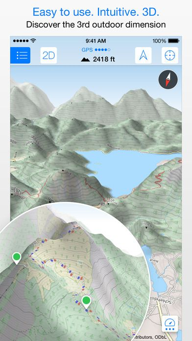 Review  Maps 3D Pro App for Offline Use Maps 3D Pro Screenshot