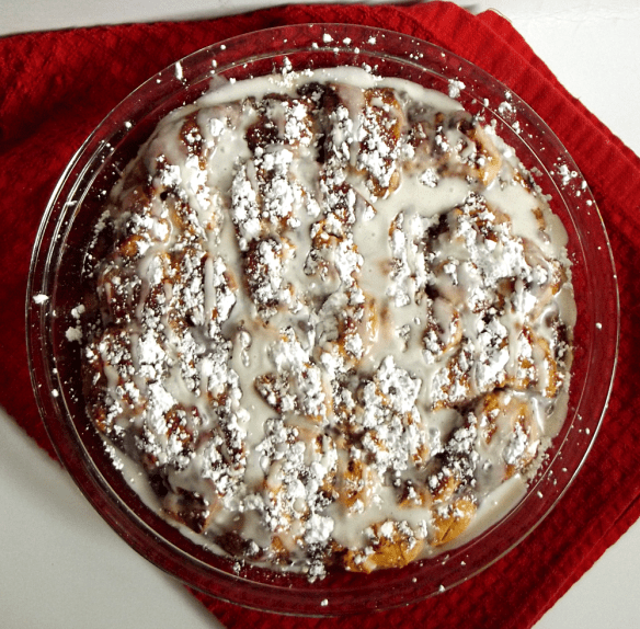 Cinnamon Roll French Toast Bake {Life With the Crust Cut Off}
