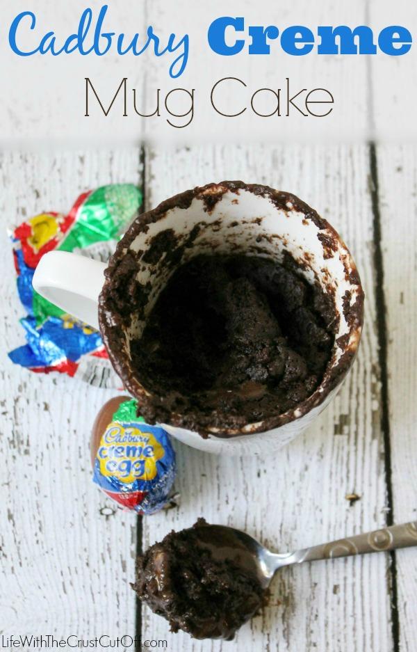 Cadbury Creme  Mug Cake