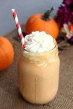 Caramel Pumpkin Milkshake