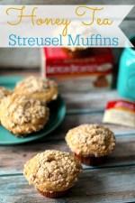 Honey Tea Streusel  Muffins