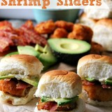 Bacon Avocado Shrimp Sliders #SamsClubSeafood #CollectiveBias