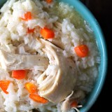 The Best Chicken & Rice Soup