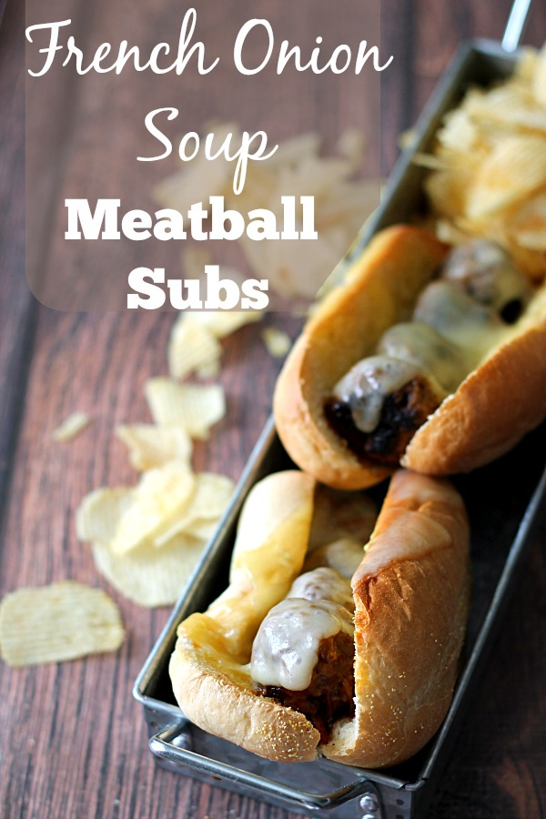 French Onion Soup Meatball Subs #WeekNightHero #CollectiveBias