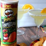 Pringles Tortillas Zesty Salsa