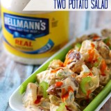 Buffalo 2 Potato Salad, yum!