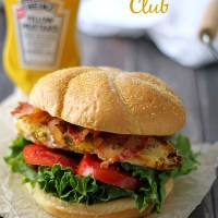 Mustard Maple Grilled Chicken Club