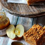 Caramel Apple Rice Treats