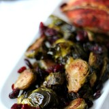 Cranberry Balsamic Brussel Sprouts