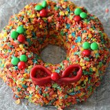 Fruity Pebble Wreath
