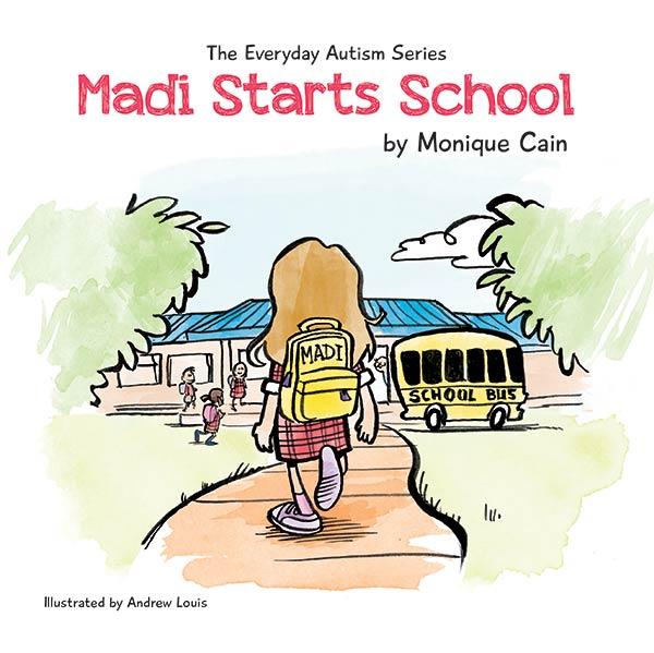 monique-cain-madi-starts-school