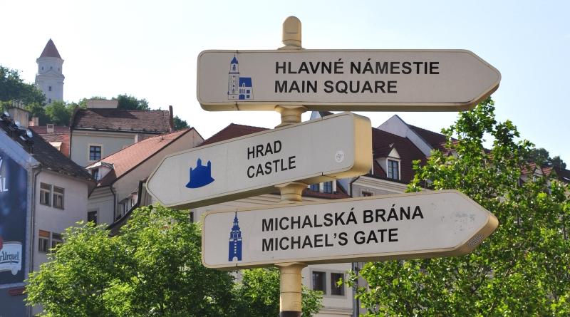 Um dia em Bratislava na Eslováquia
