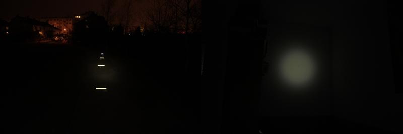 Fenix HP15 - 4 lumens (outdoor / indoor)