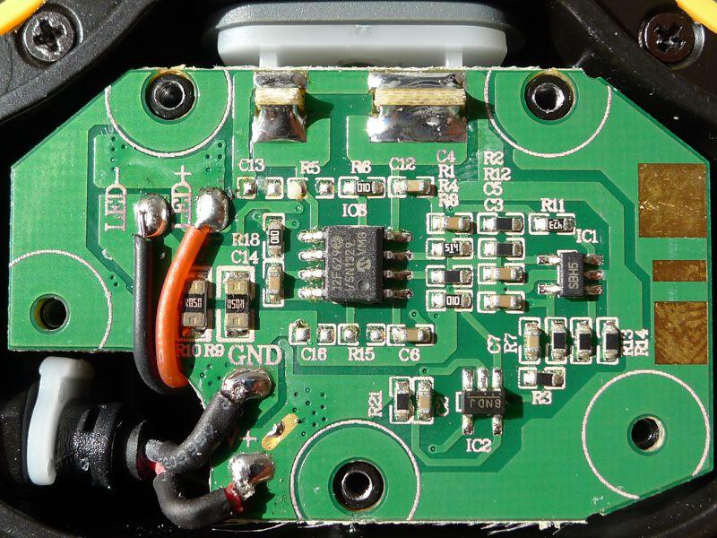 Fenix HP15 - driver front