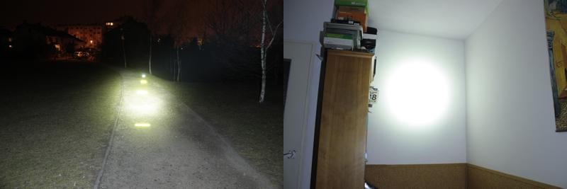 Fenix HP30 - 500 lumens (outdoor / indoor)