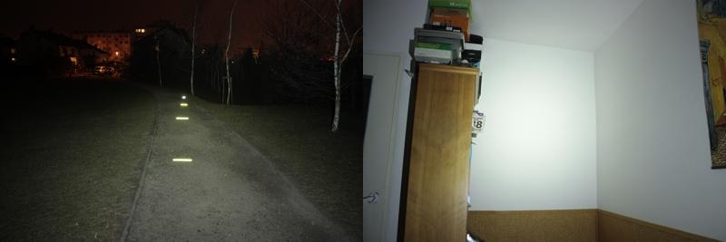 Fenix HP30 - 500 lumens + diffuser (outdoor / indoor)