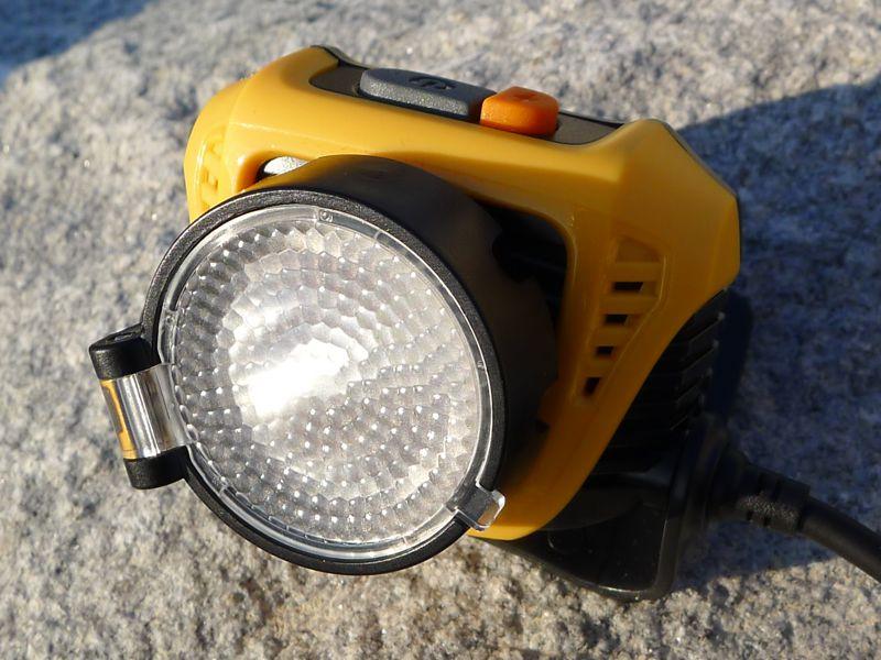Fenix HP30 - diffuser on