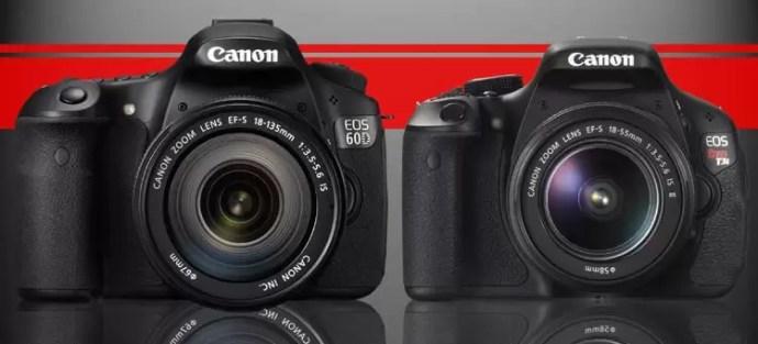 Canon T3i vs 60D
