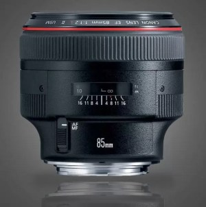 Canon 85mm f/1.2L