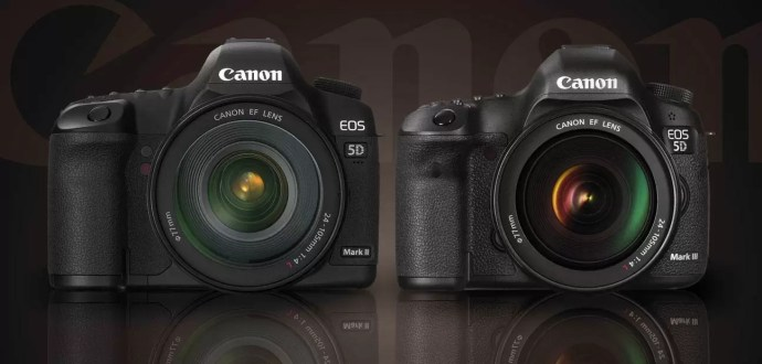 Canon 5D Mark III vs Canon 5D Mark II