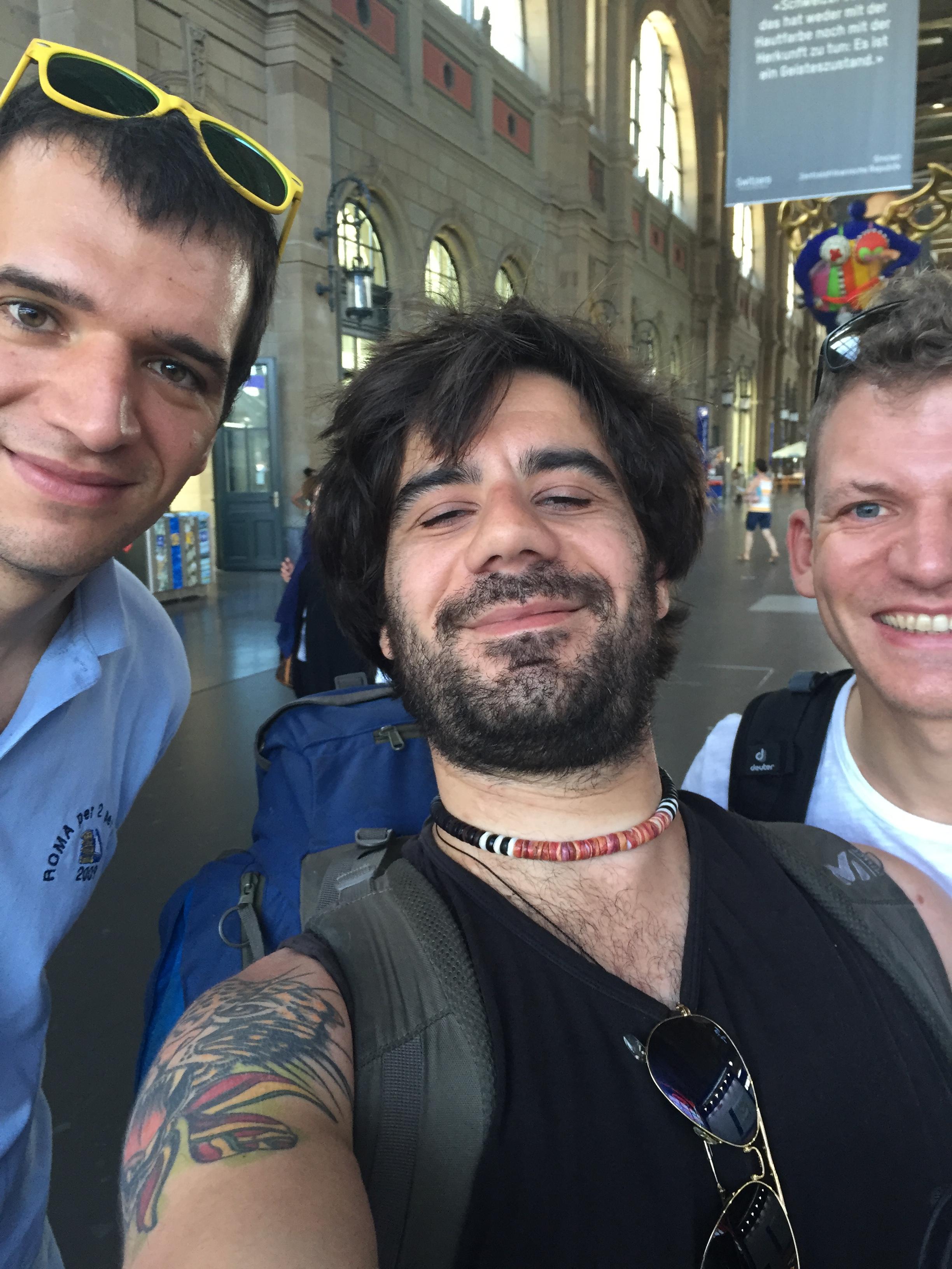 Svizzera - 1 - Stefano, me & Roberto