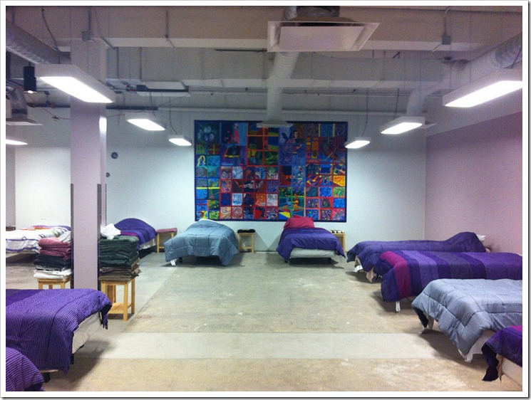 The women's emergency homeless shelter at The Lighthouse