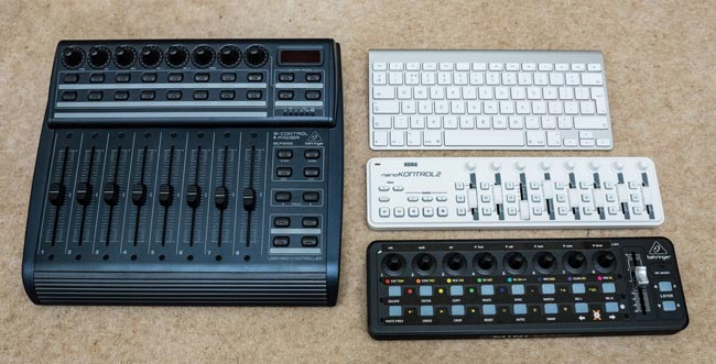 Lightroom midi controllers