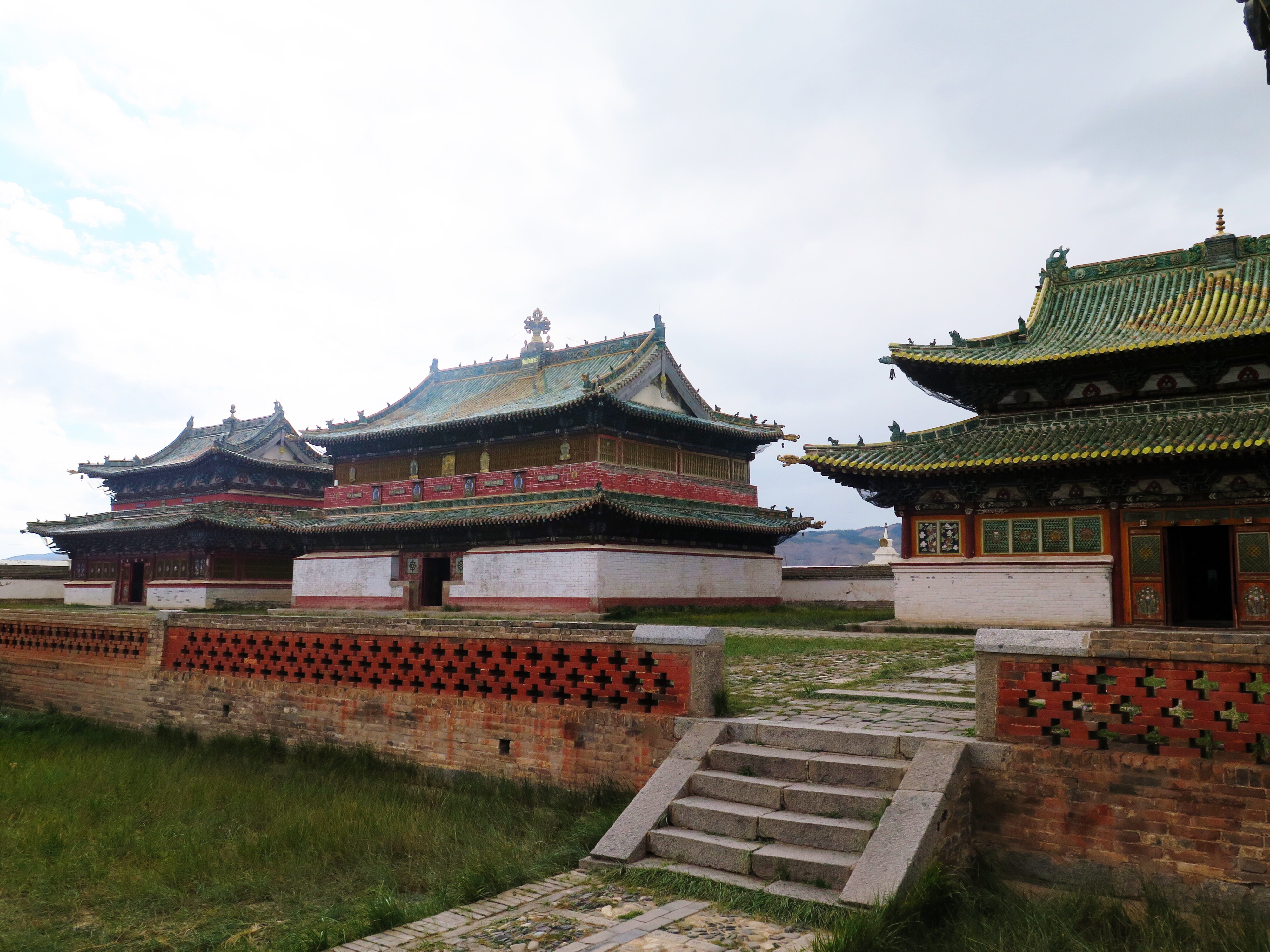 These are the three main temples, which we toured.