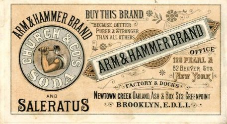 Arm and Hammer Ad Booklet
