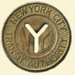 NYC Subway Token 300x300 Taking the IP Train