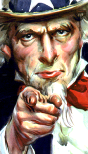 Uncle Sam Hand