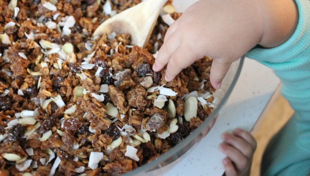 Catching up: homemade popcicles, pregnancy update, and the mystery granola