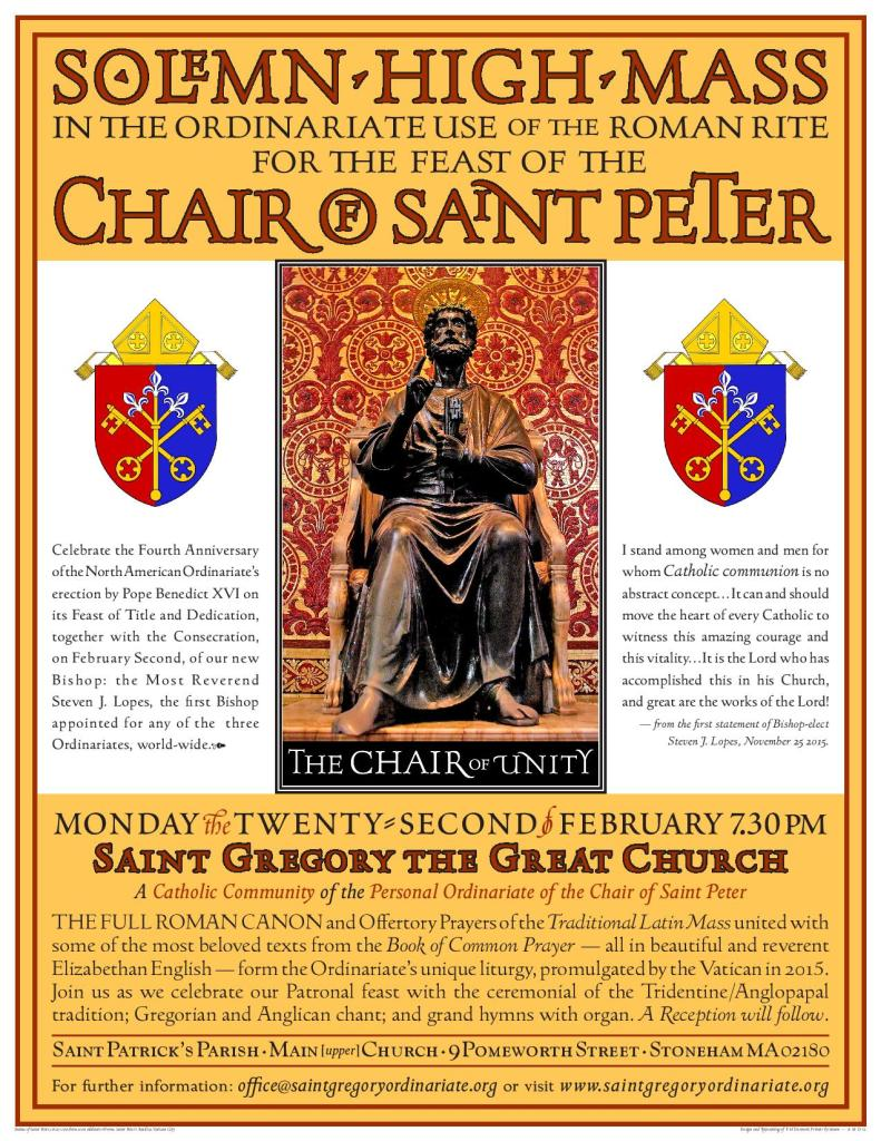 St. Gregory the Great ~ feast of the Chair of St. Peter