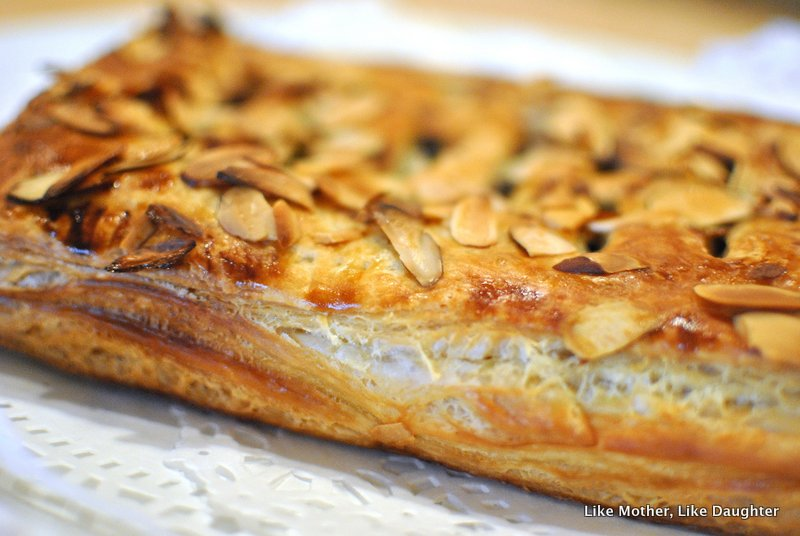 Jalousie: Chocolate Almond Puff Pastry Goodness ~ Like Mother Like ...