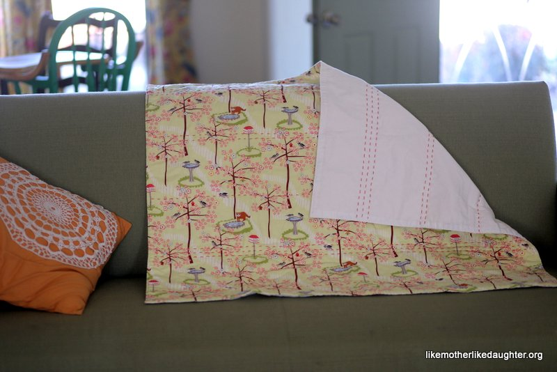A simple baby quilt or two.