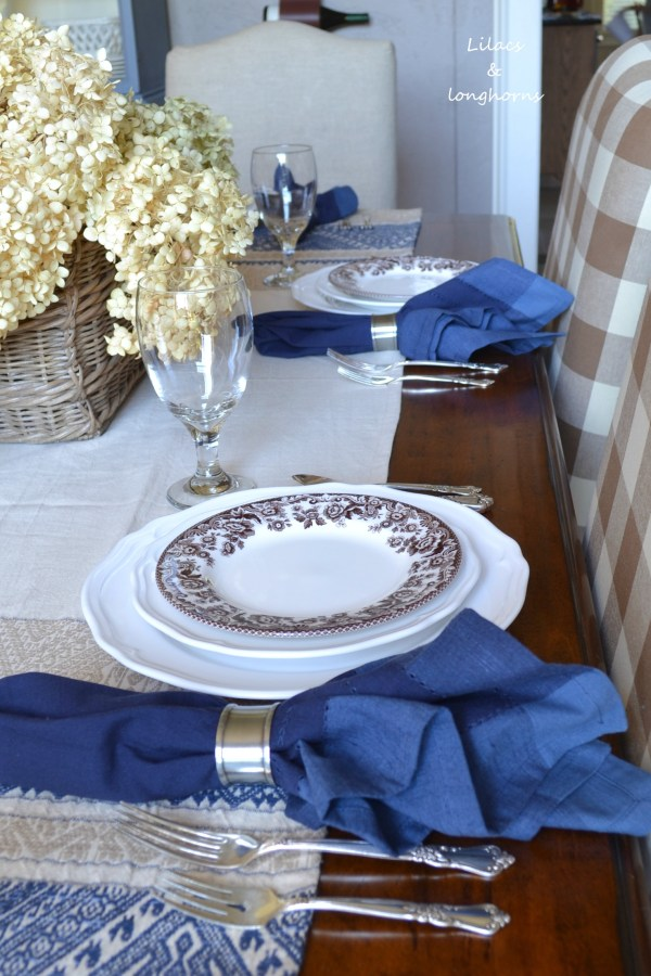 fall place settings