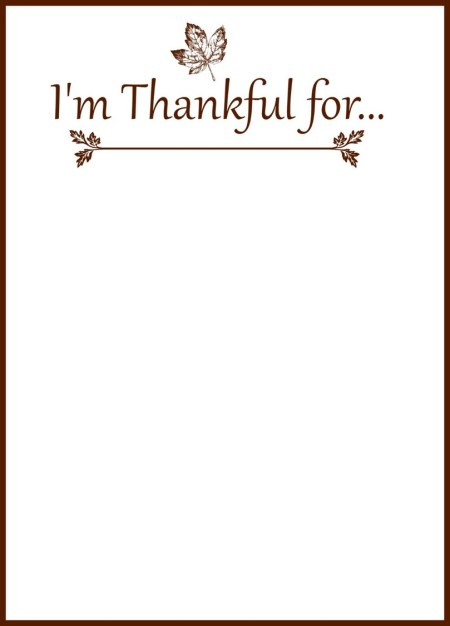 Im Thankful For cards