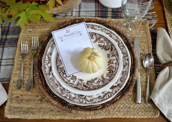 Thankful at Home 2014