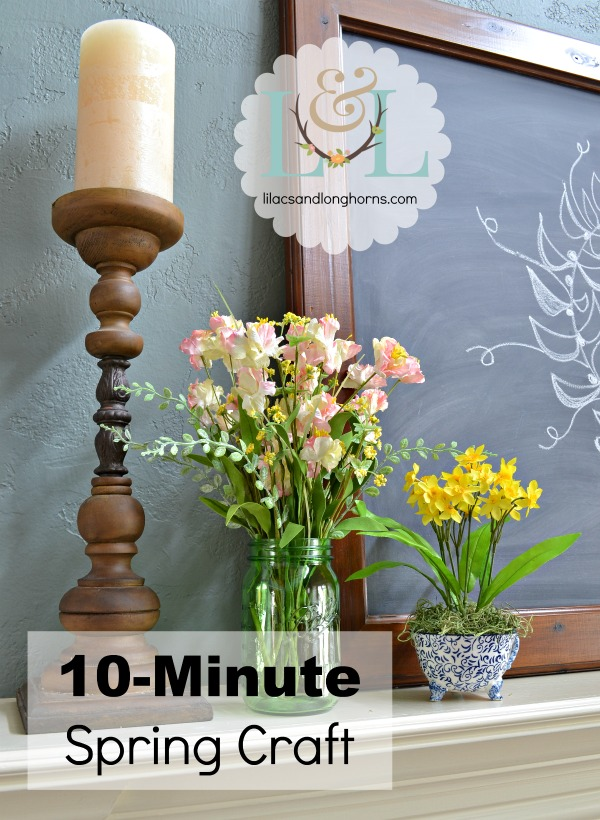 10-minute spring craft