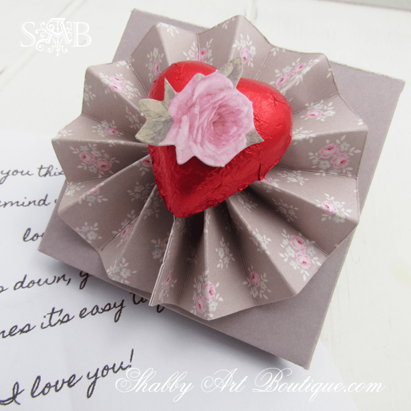 Mini love letters from The Shabby Art Boutique