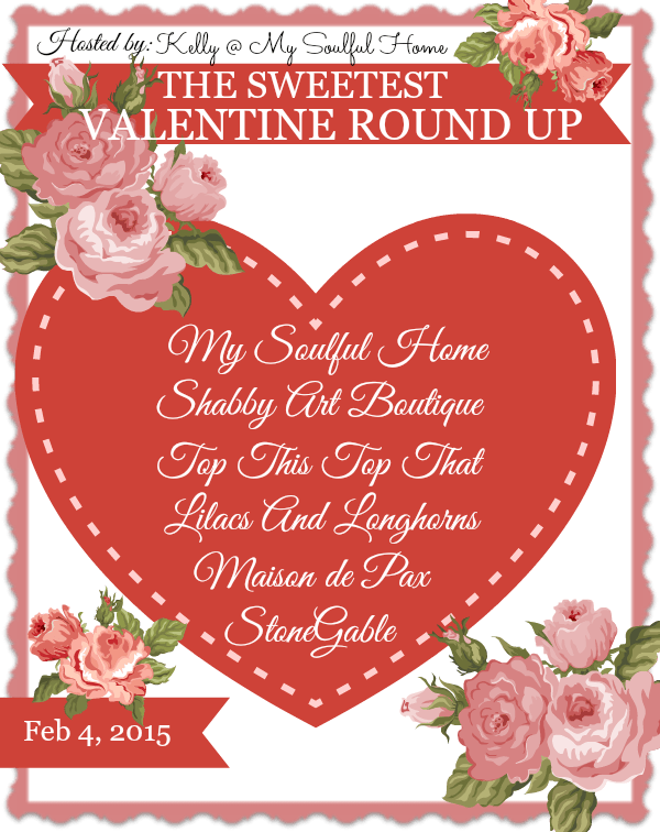 The Sweetest Valentine Roundup includes sweet Valentine projects from fabulous bloggers!