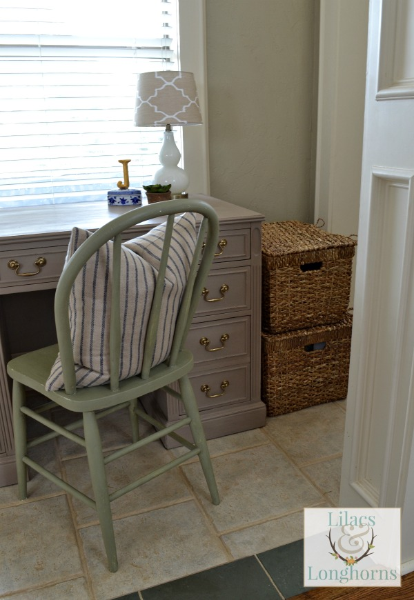 lidded baskets hold extra desk storage