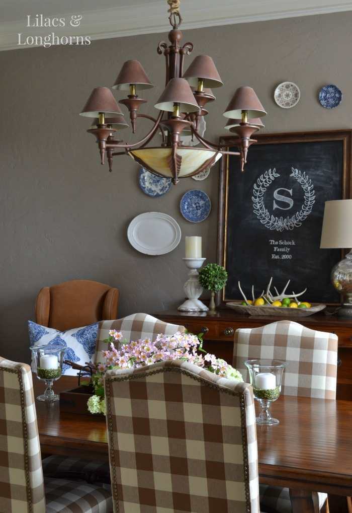 Summer Dining Room Decor {bHome Summer Open House}