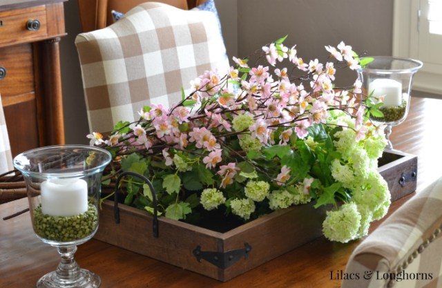 summer floral display