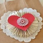 paper Valentine's Day mail bag