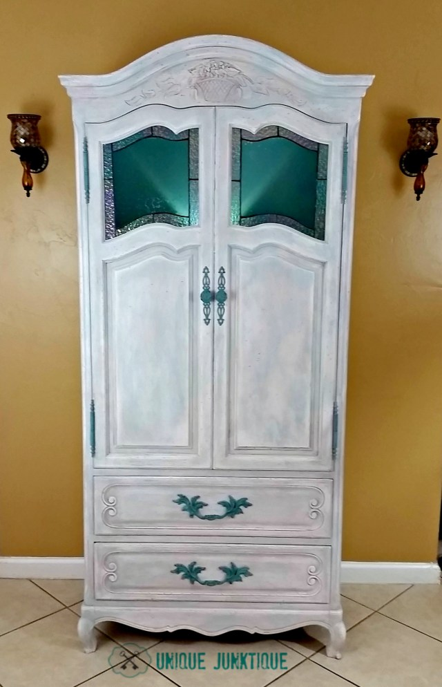 coastal inspired armoire