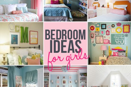 girls bedroom idea diy roundup